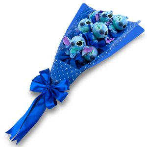 Bouquet de Peluches Stitch
